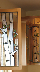 Cabinets Stained Glass Art
